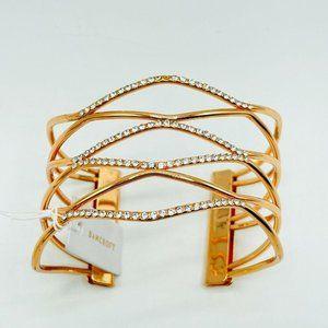 Bancroft Women's Rowley Crystal Cuff Bracelet NEW